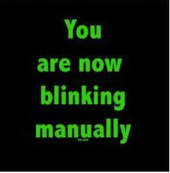nowblinking